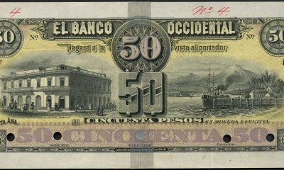En 1889, reunidos en Santa Ana, León Dreyfus, el doctor Emilio Álvarez y Benjamín Bloom fundaron uno de los primeros bancos del país: Banco Occidental.